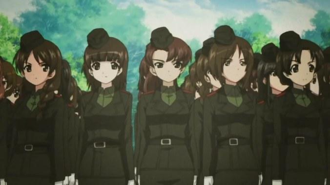Girls und Panzer 1